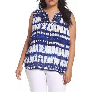 NWT NYDJ tie dye shirt size 2X